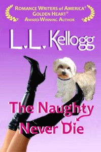 The Naughty Never Die Book Cover Smaller