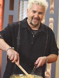 Guy Fieri, Season Two Winner of The Next FoodNetwork Star, as shown on the The Food Network.