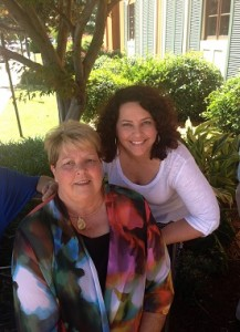 Liz Talley with her mother, Mother's Day 2013