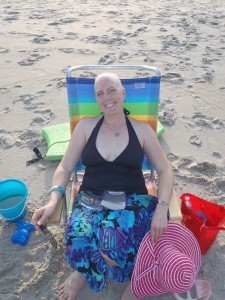 Baldy on the Beach