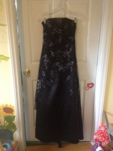 Prom dress for my daughter bought for $7.50! Woot!