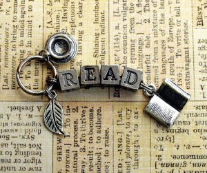 Image of READ keyring giveaway