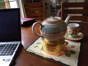 tea with work