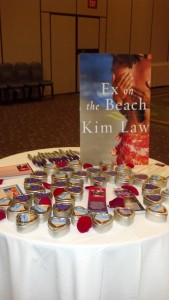 Some of Kim Law's swag.