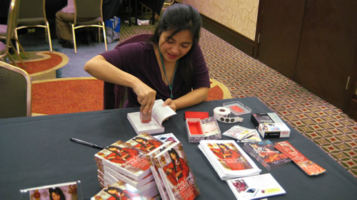My very first booksigning in 2010