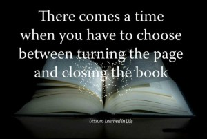 closing the book