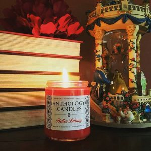 Belle's Library candle by Anthology Candles